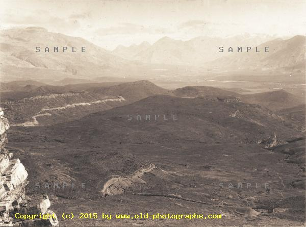 Hex river mountain scenery