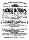 Advertisement for Telegraph Service